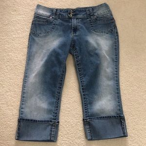 Angel jean capris size 12P